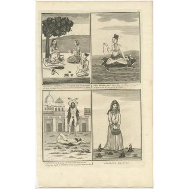 Pénitent Bramine (..) - Picart (1723)