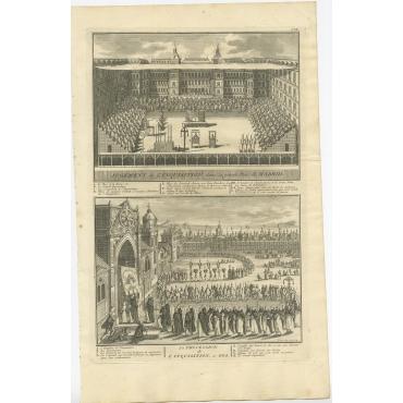 Iugement de l'Inquisition (..) - Picart (1723)
