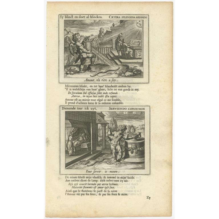 Caetera Splendida Reddens - Hooft (1671)