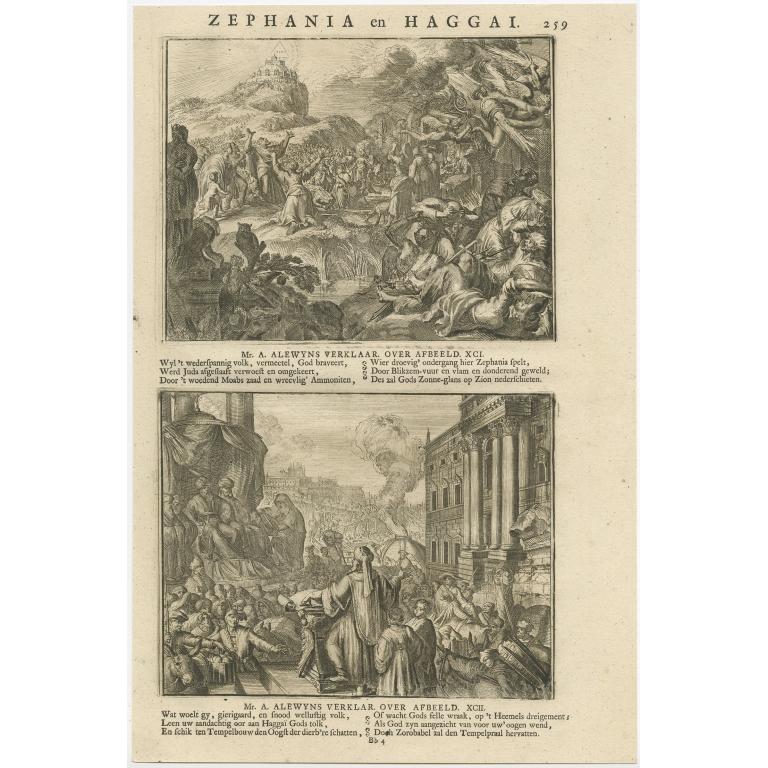 P. 259 Zephania en Haggai - Lindenberg (1713)
