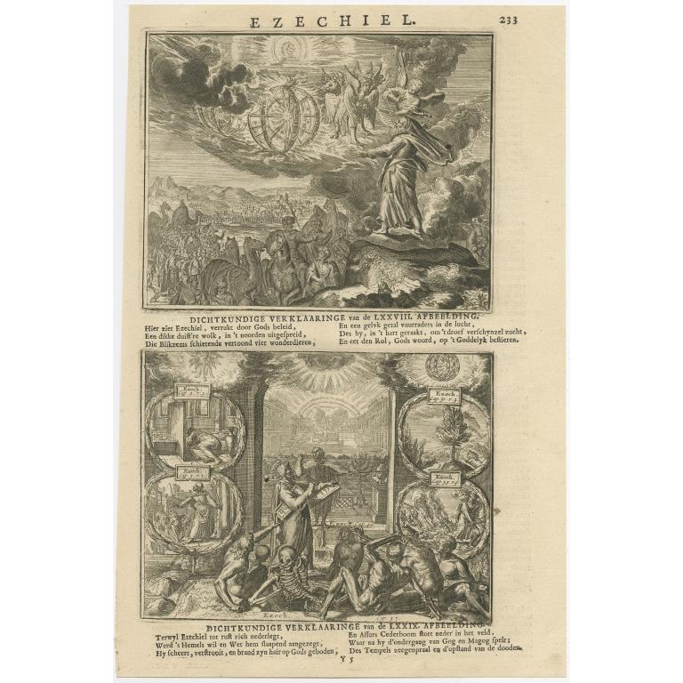 P. 233 Ezechiel - Lindenberg (1713)