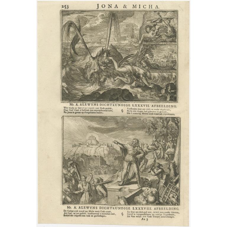 P. 253 Jona & Micha - Lindenberg (1713)