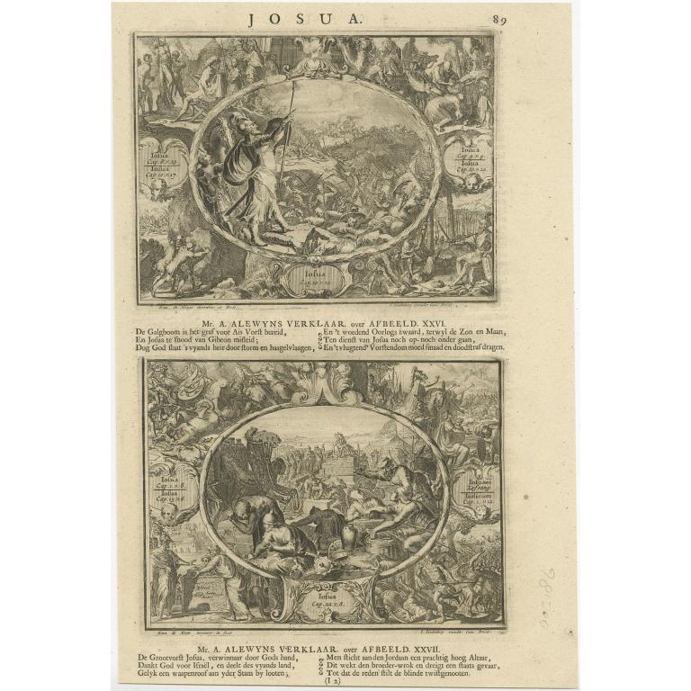 P. 89 Josua - Lindenberg (1705)