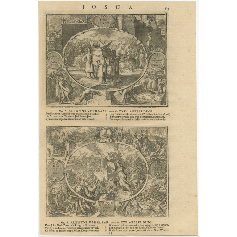 P. 87 Josua - Lindenberg (1705)