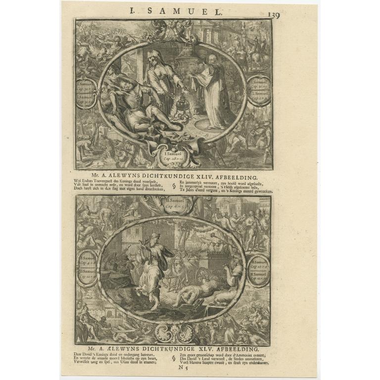 P. 139 I. Samuel - Lindenberg (1705)
