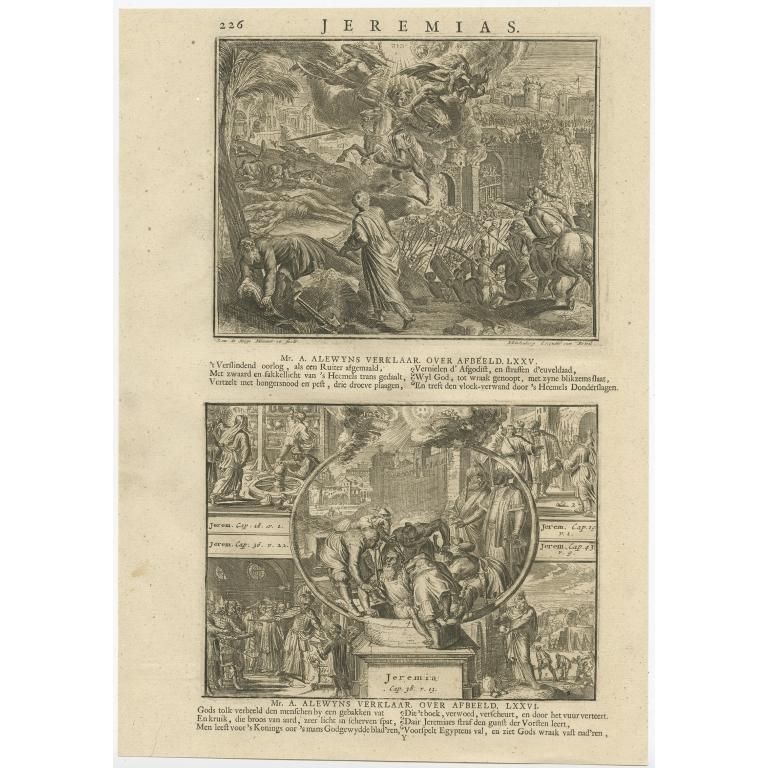 P. 226 Jeremias - Lindenberg (1713)