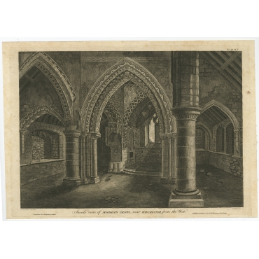 Inside View of Magdalen Chapel (..) - Basire (1790)