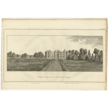 W. View of Cowdray (..) - Basire (1796)