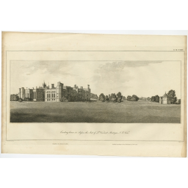 Cowdray House in Sussex (..) - Basire (1796)