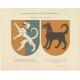 Taf 14. Wappenschild der Herren von Gruttschreiber (..) - Ströhl (1910)