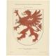Taf 9. Wappenschild des Herzogtums Pommern (..) - Ströhl (1910)