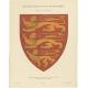 Taf 8. Wappenschild des Königreichs England (..) - Ströhl (1910)