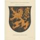 Taf 6. Wappenschild der Pfalzgrafschaft am Rhein (..) - Ströhl (1910)