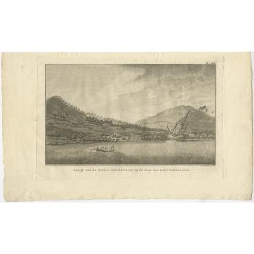 Gezigt van de Rivier Endeavour (..) - Cook (1803)
