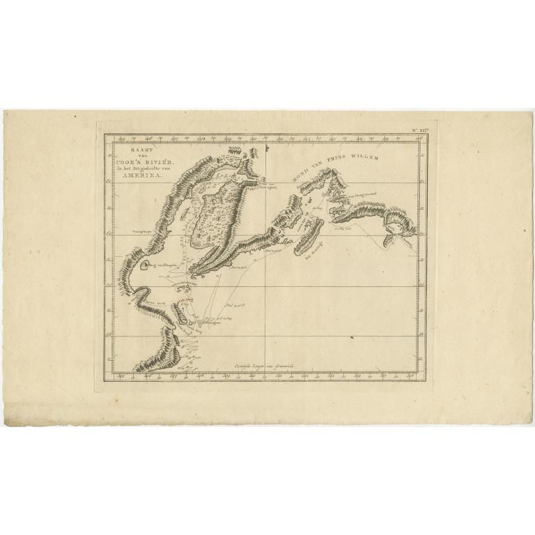 Kaart van Cook's Rivier - Cook (1803)