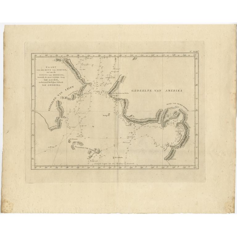 Kaart van den Mond van Norton (..) - Cook (1803)