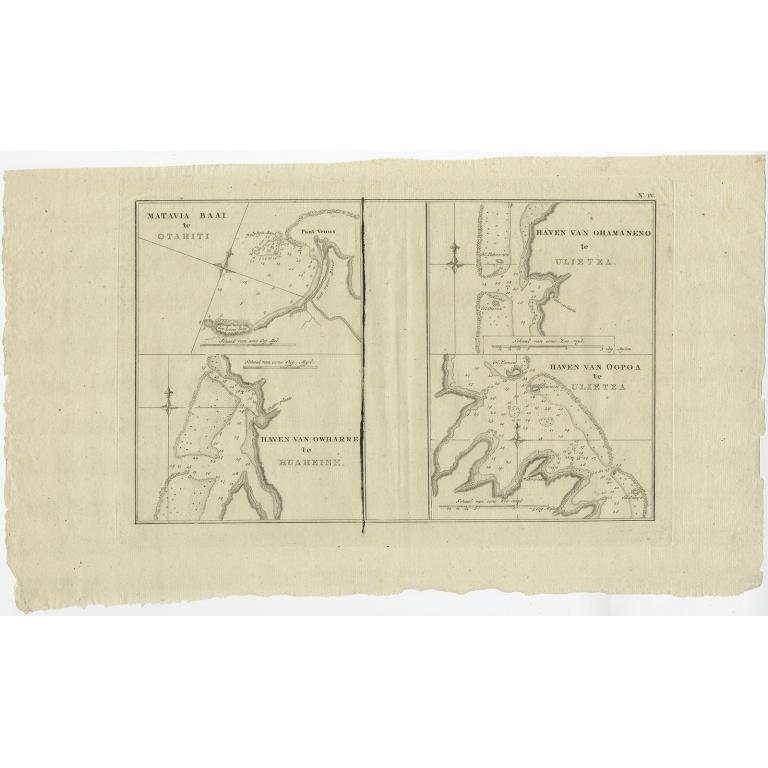 Matavia Baai te Otahiti (..) - Cook (1803)