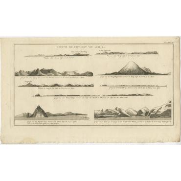 Gezigten der West-Kust van Amerika - Cook (1803)