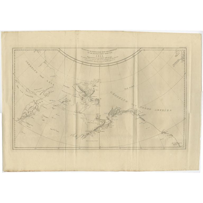Kaart van de Noord-West kust van Amerika (..) - Cook (1803)