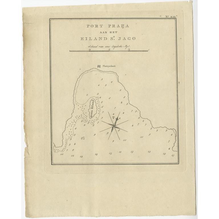 Port Praija aan het Eiland St. Jago - Cook (1803)