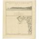 Plan van de Avontuur-Baai - Cook (1803)