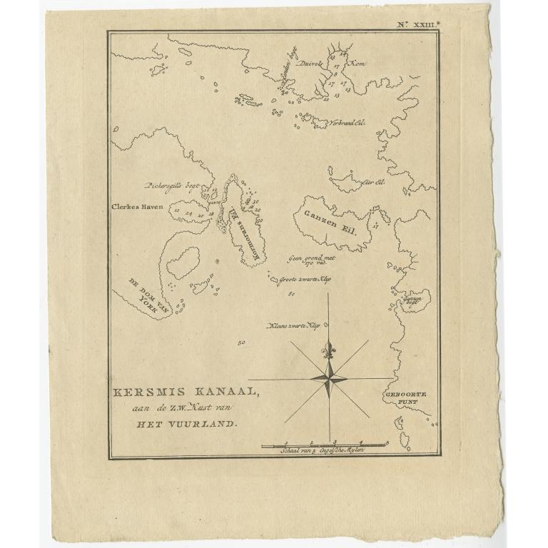 Kersmis Kanaal (..) - Cook (1803)