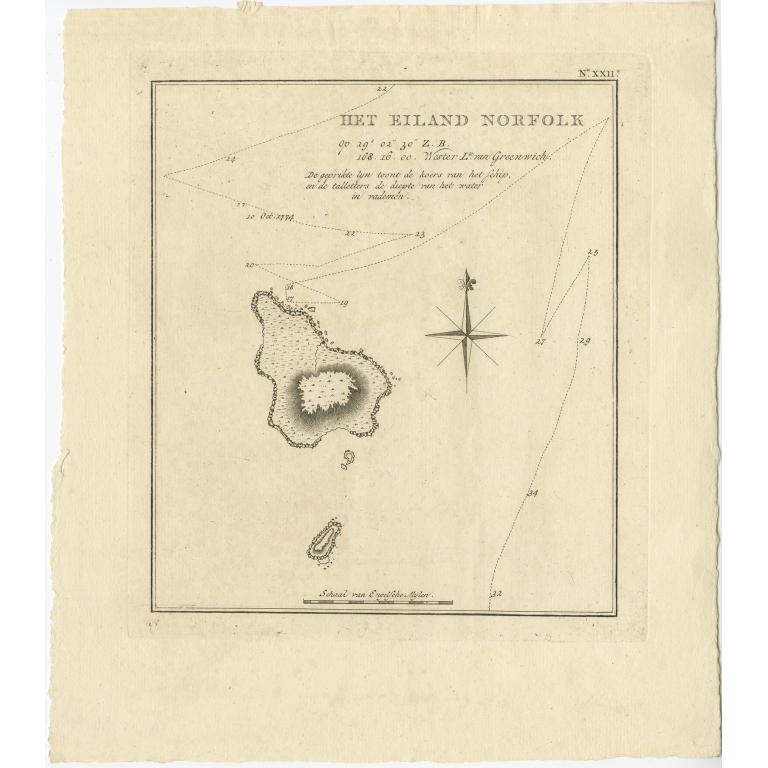 Het Eiland Norfolk - Cook (1803)
