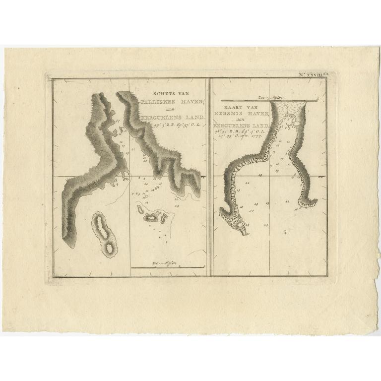Schets van Pallisers Haven (..) - Cook (1803)