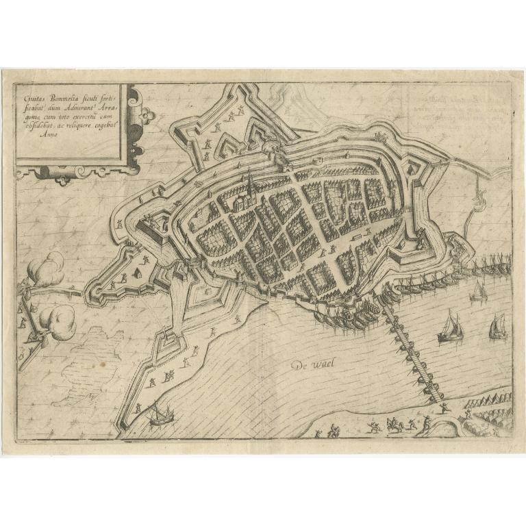 Civitas Bommelia (..) - Guicciardini (1613)