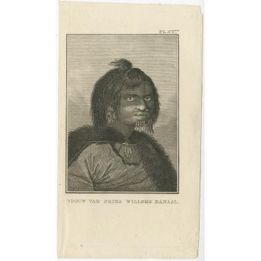 Vrouw van Prins Willems Kanaal - Cook (1803)