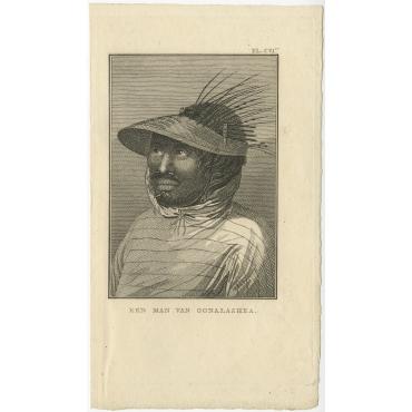 Een Man van Oonalashka - Cook (1803)