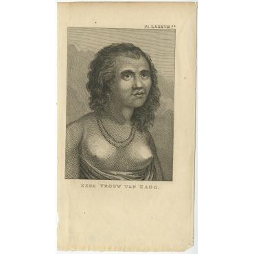 Eene Vrouw van Eaoo - Cook (1803)