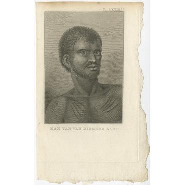 Man van Diemens Land - Cook (1803)