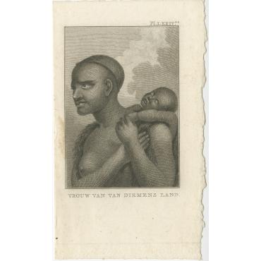 Vrouw van Van Diemens Land - Cook (1803)