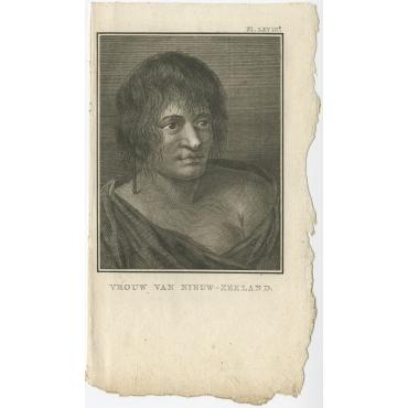 Vrouw van Nieuw-Zeeland - Cook (1803)