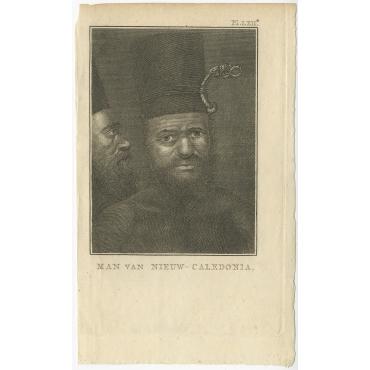 Man van Nieuw-Caledonia - Cook (1803)