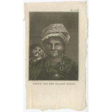 Vrouw van het Eiland Tanna - Cook (1803)