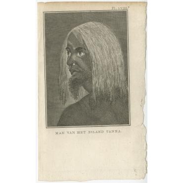 Man van het Eiland Tanna - Cook (1803)