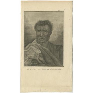 Man van het Eiland Mallicolo - Cook (1803)