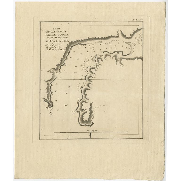 Plan der Haven van Samganoodha (..) - Cook (1803)