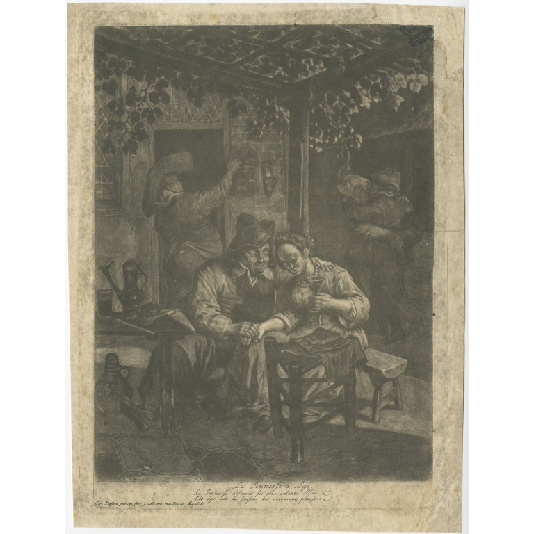 La Jeunesse 2. Age - Dusart (c.1690)