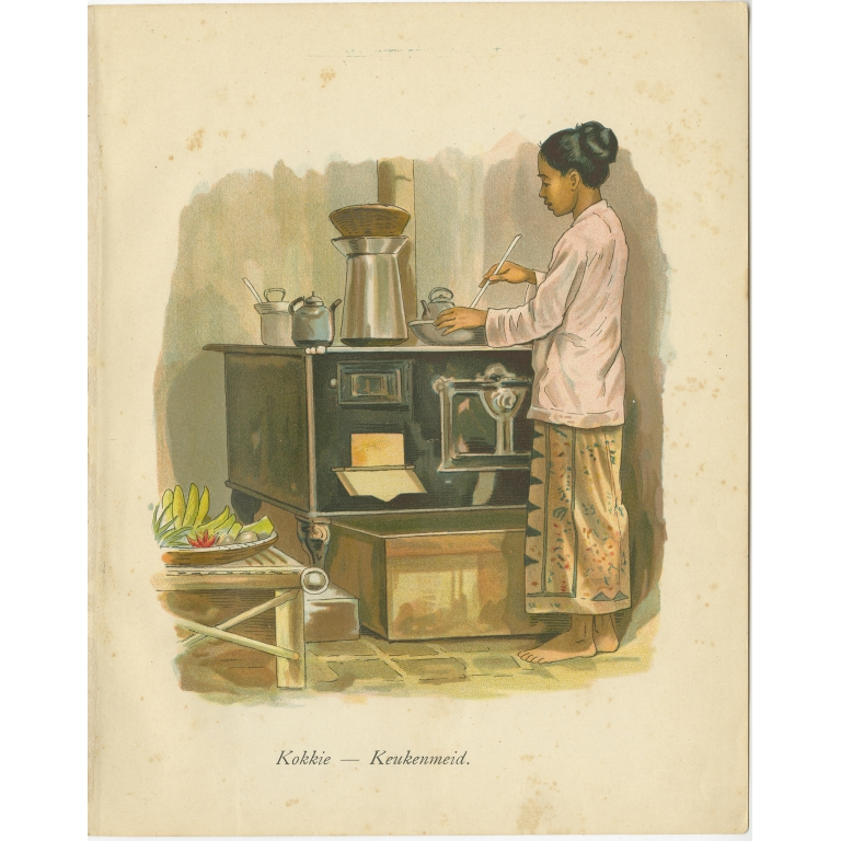 Kokkie-keukenmeid - Van der Heijden (1909)