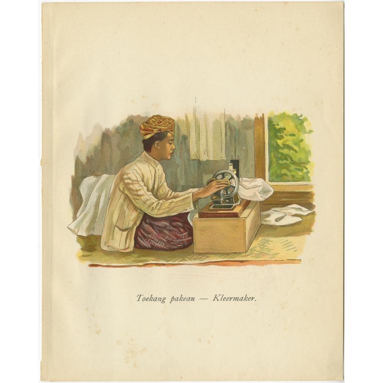 Toekang pakean-Kleermaker - Van der Heijden (1909)