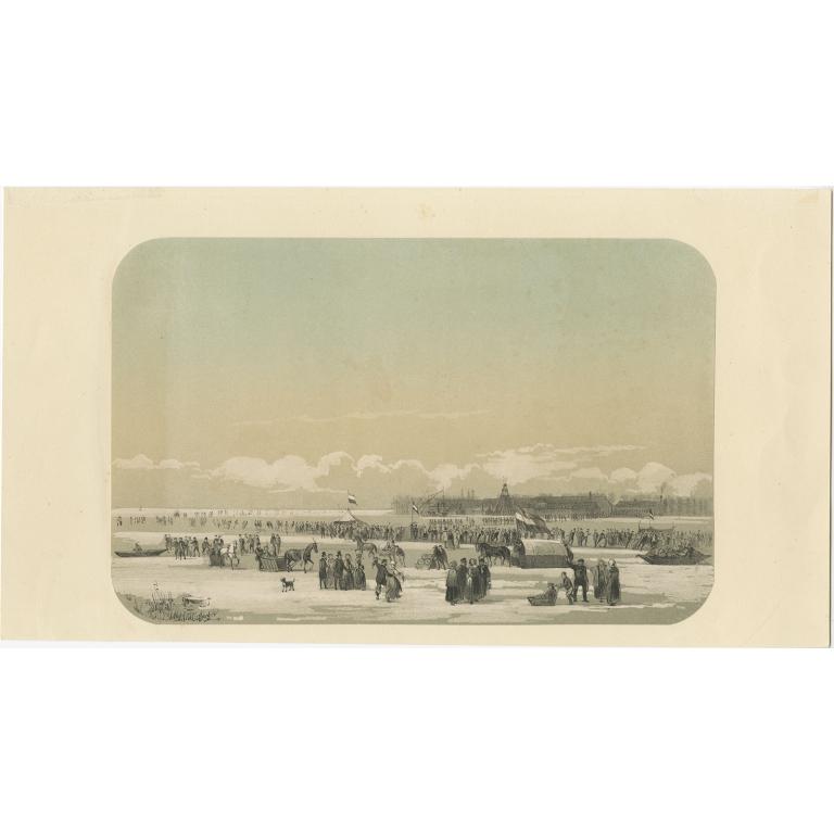 De Maas voor de fabriek te Fyenoord - Van Reyn (1855)