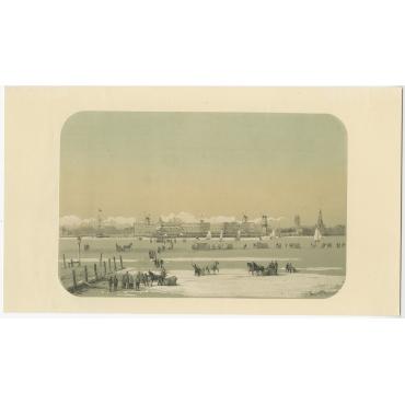 De Stad van Katendrecht gezien - Van Reyn (1855)