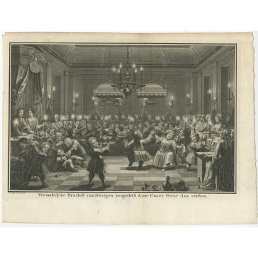 Vermakelyke Bruiloft van Dwergen (..) - Philips (1742)