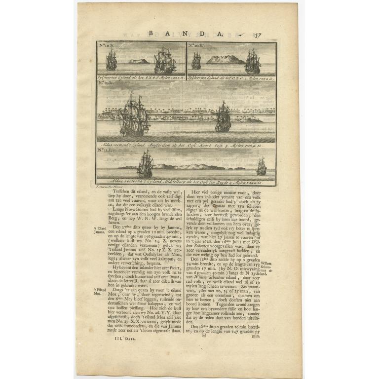 Aldus vertoond 't Eyland Middelburg (..)  - Valentijn (1726)