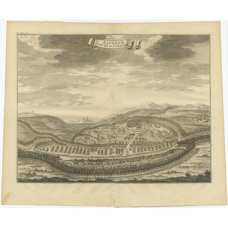 Eauweck, Hooft Stad van Cambodia - Valentijn (1726)