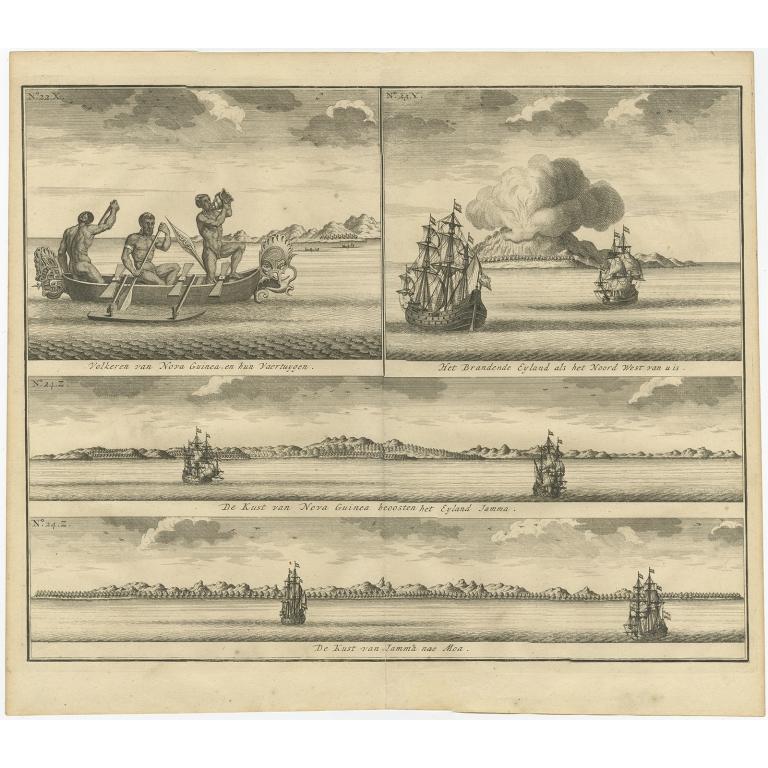 Volkeren van Nova Guinea (..) - Valentijn (1726)