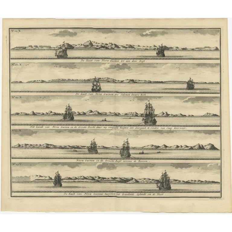 De Kust van Nova Guinea (..) - Valentijn (1726)